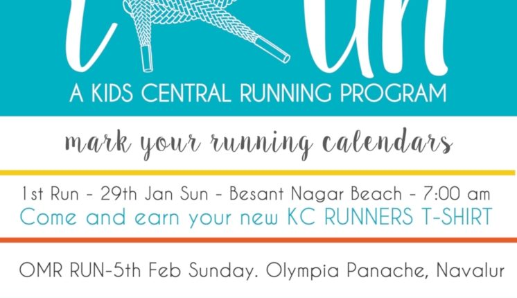 iRun KC High Kids Central Running Program Chennai IGCSE School