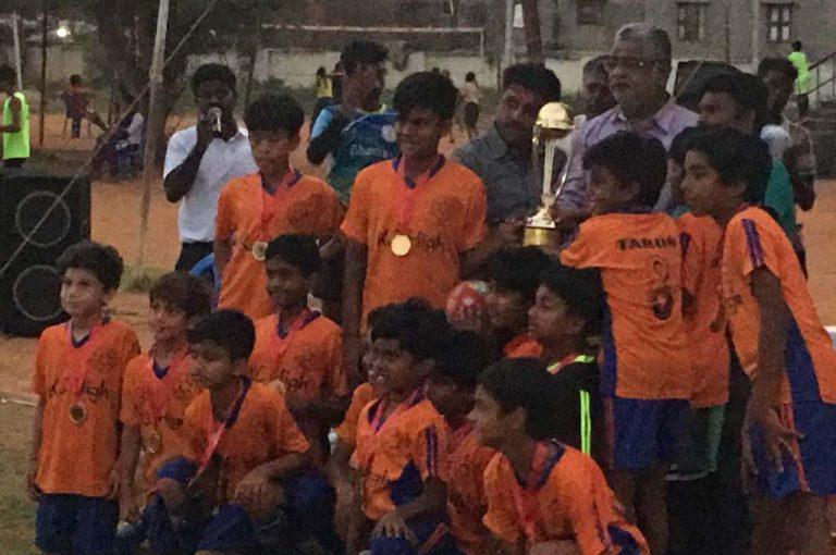 KC High U-10 Wins CFA School Football League 3