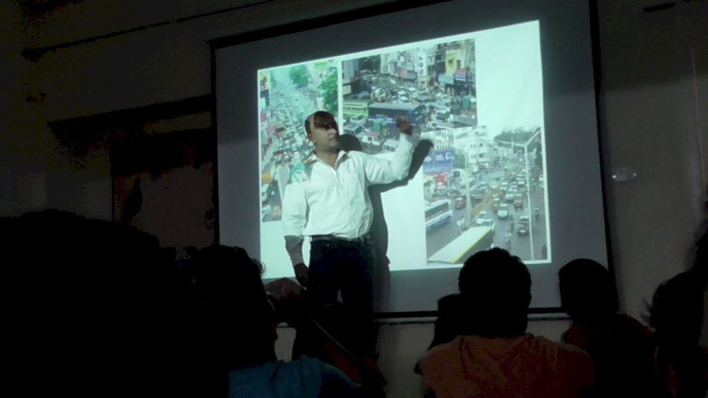 Mr. Raj Cherubal Guest Speaker - Smart City Project Chennai