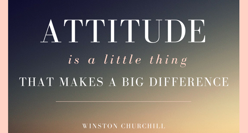 KC High Head of School Mick Purcell's blog post on Attitude