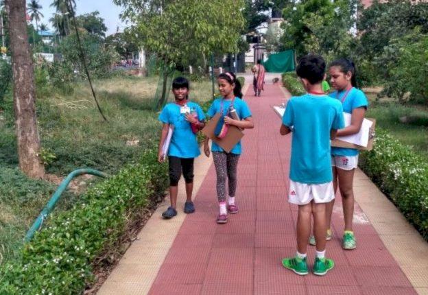 KC High IGCSE Cambridge International School Chennai Grade 4 students visit Kotturpuram Tree Park - 1