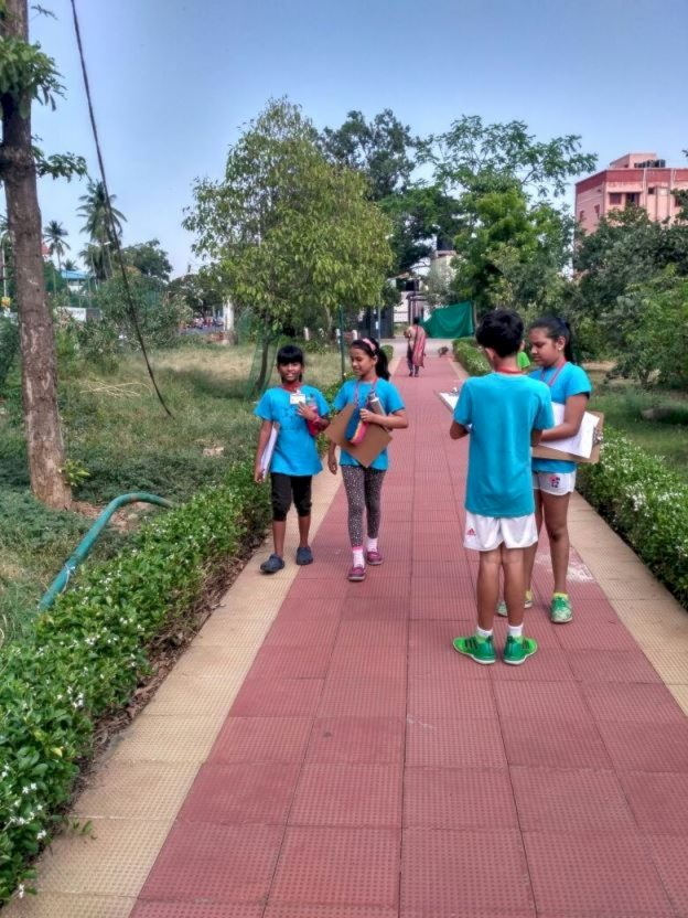 KC High IGCSE Cambridge International School Chennai Grade 4 students visit Kotturpuram Tree Park - 1