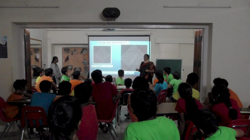 KC High Madras Week Math Workshop with Mathematician Saroja Sundarajan - 1