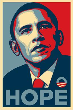 "Hope - This 2008 election poster is already a ""classic"" in Graphic Design"