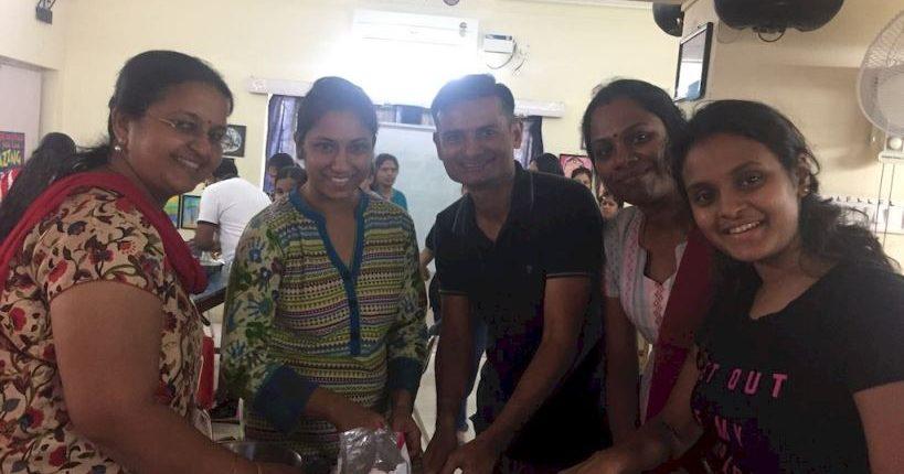 Cake Making Classes In Omr : KC High Teachers bonding over cooking - KC High IGCSE Board Cambridge International School Chennai
