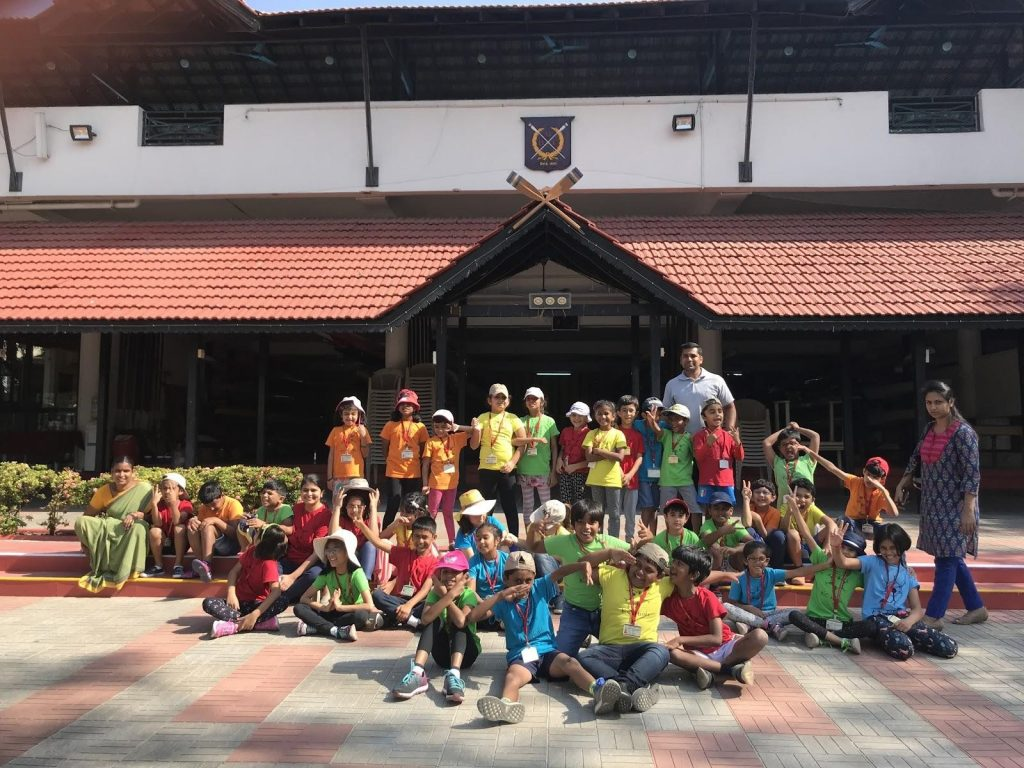 Kc High Grade 2 Field Trip to Boat Club
