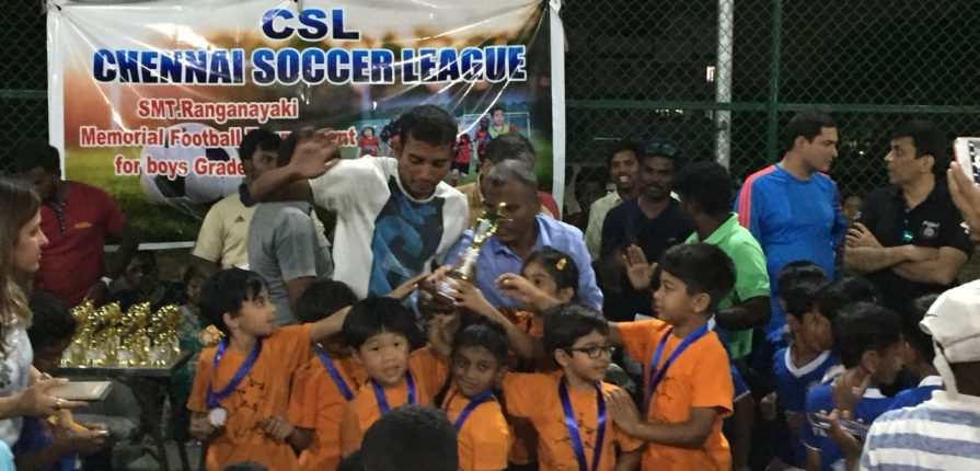 Chennai Soccer League Feb 2018