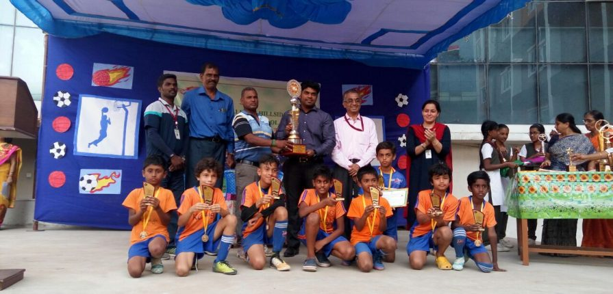 KC High Shines at BVM Bollineni Inter-School Football & Basketball Tournament