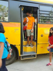 KC High International School Navalur OMR Chennai - Bus