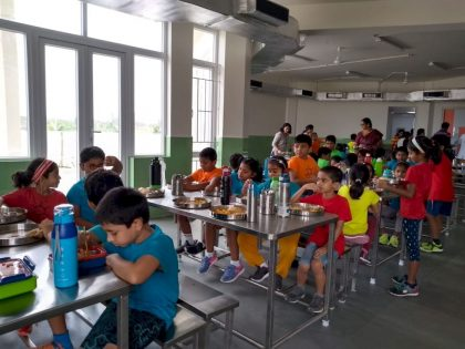 KC High International School Navalur OMR Chennai - Cafeteria