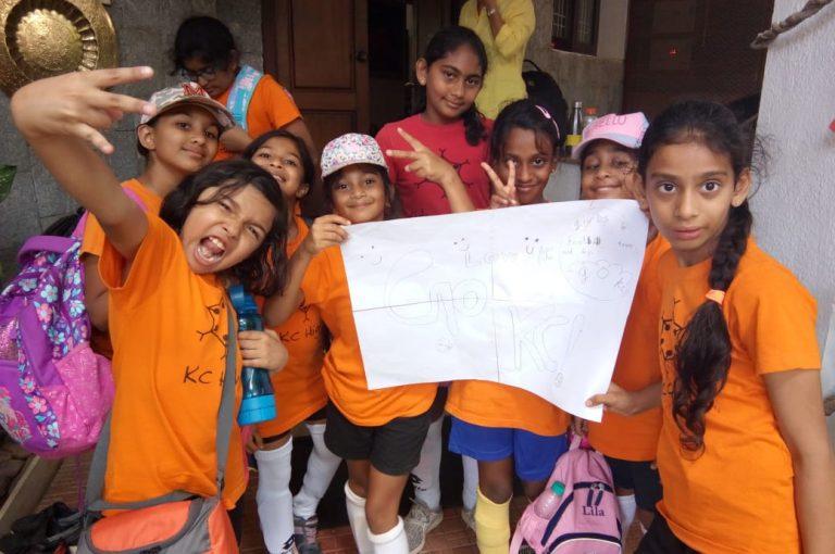 KC High Girls U-10 Win the Padma Bhushan Lady Andal Inter-School Football Tournament