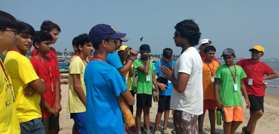 KC High International School Chennai Grade 6 & 8 Field Trip to Bay of Life
