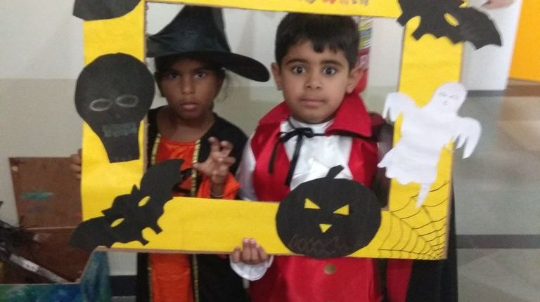 KC High International School Chennai Halloween 2018 Gallery