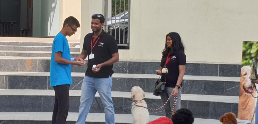 KC High International School Chennai Toip Dog Academy Session - 5