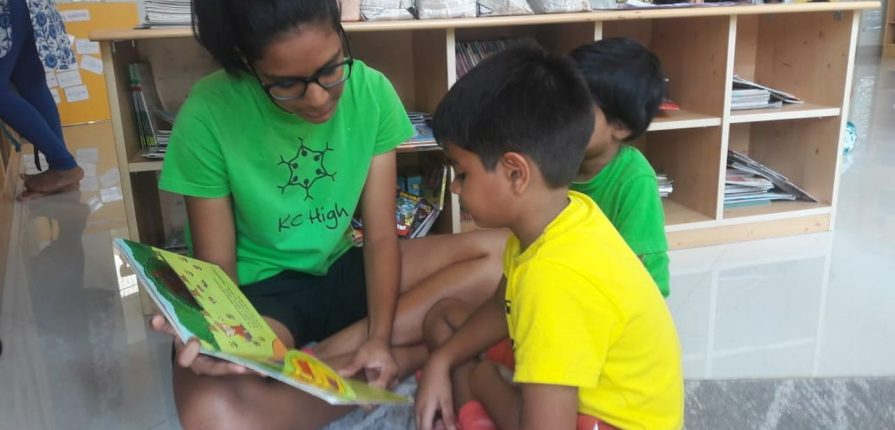KC High International School Chennai Inter-grade Buddy Reading