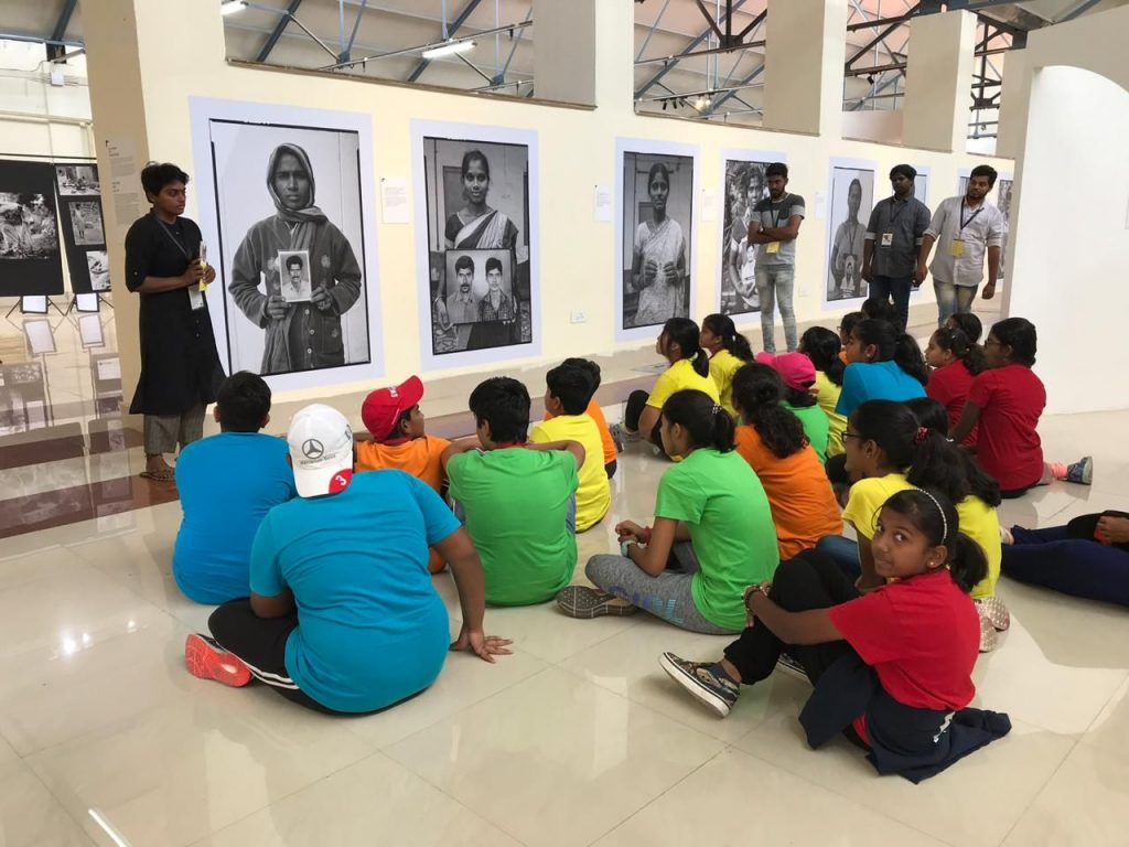 KC High International School Chennai Middle School Field Trip Photo Biennale 2019