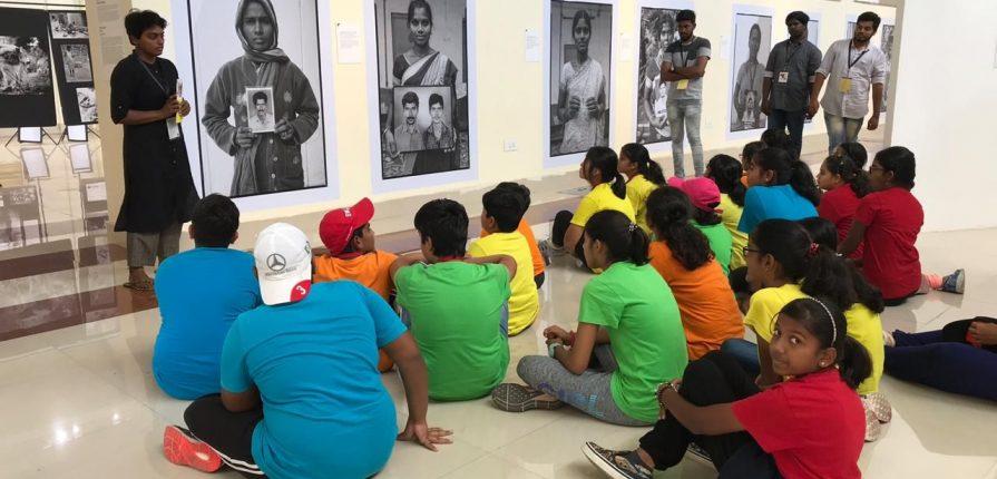 KC High International School Chennai Middle School Field Trip Photo Biennale 2019