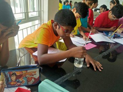 KC High International School Navalur OMR Chennai - Lab