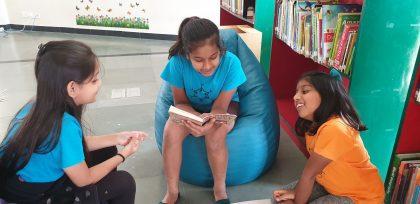 KC High International School Navalur OMR Chennai - Library