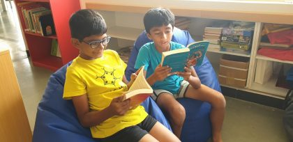 KC High International School Navalur OMR Chennai - Library