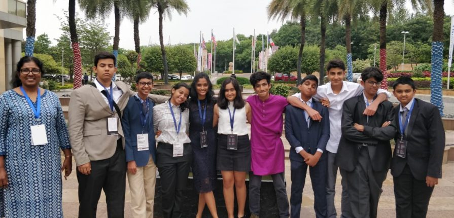 KC High International School students participate in Harvard Model United Nations (HMUN) India 2019