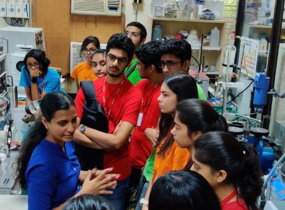 IIT Visit by IBDP 1 & 2