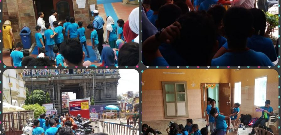 KC High International School Navalur OMR Chennai Field Trip 2019 with Galloping Gazelles