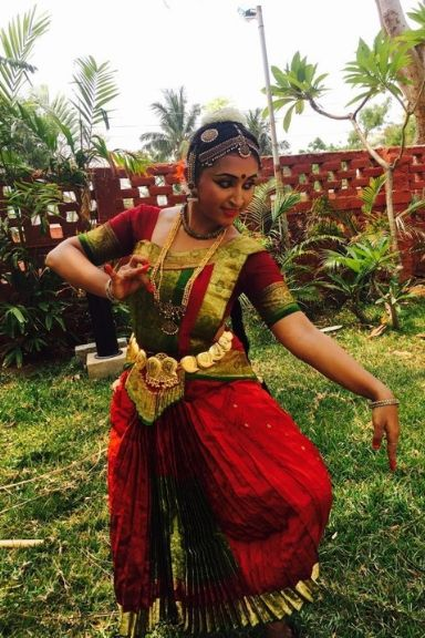 Tasha Joseph - Traditional Dance Teacher at KC High International School Navalur OMR Chennai