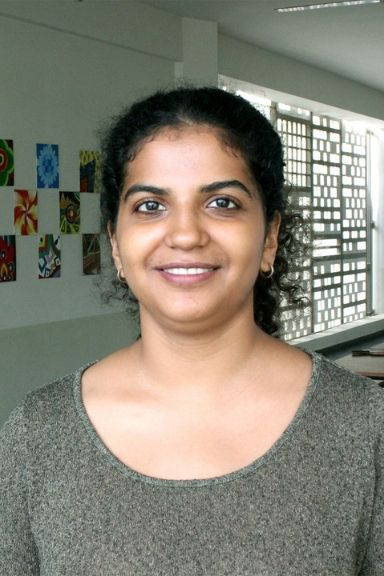 Vishaka Sriram - Teacher of Creative Writing at KC High International School Navalur OMR Chennai