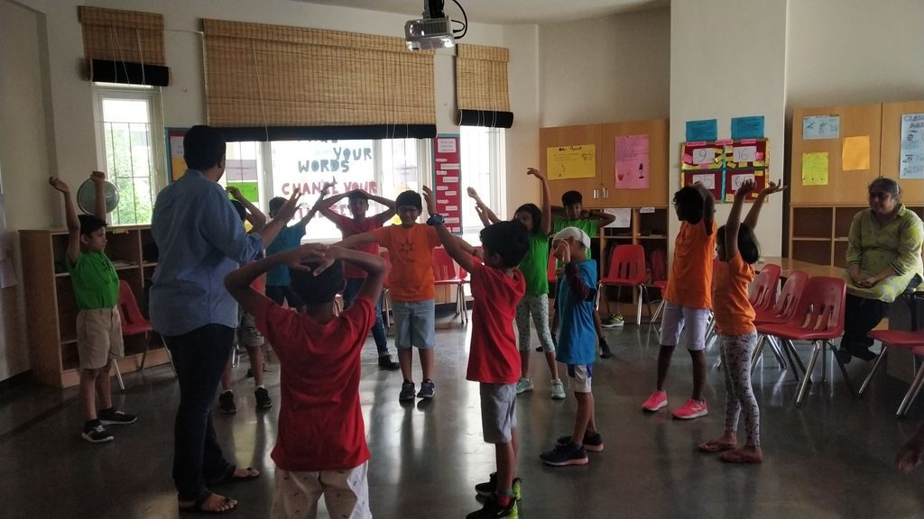 KC High International School Navalur OMR Chennai Galloping Gazelles Nature as Classroom Session