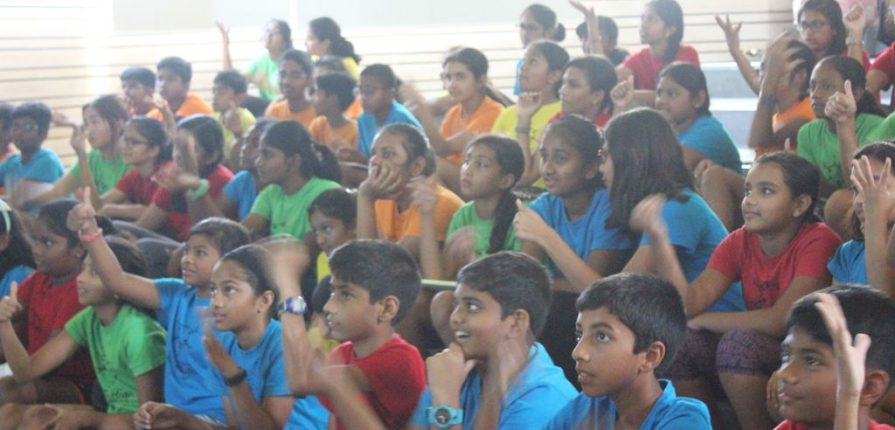 KC High International School Navalur OMR Chennai Non-Verbal Communication Session