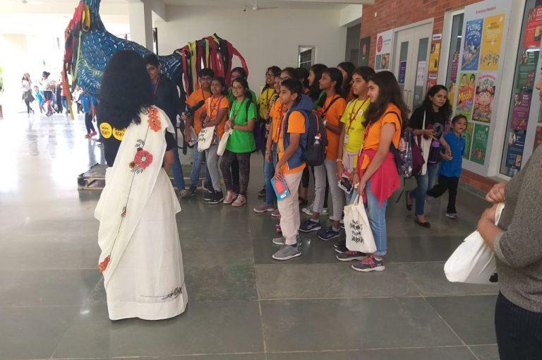 KC High International School Navalur OMR Chennai Neev Literature Festival 2019